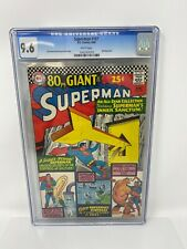 Superman #187 (DC, 1966) - 80 Page Giant G-23 - CGC 9.6 White Pages