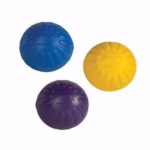 StarMark Triple Crown FANTASTIC FOAM BALL Floating Dog Fetch Toy MEDIUM 3 PACK