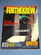 ForTheKrew Skateboard Magazine May/June 2007 Nike Sb Chet Childress Zoo York Fl