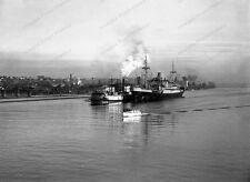 8x10 Print  Ship Tugboat Paddle Steamer Portland Oregon 1940's #1008979