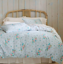 Simply Shabby Chic Lily Rose Duvet Cover Set, 3 piece Set, KING, Blue