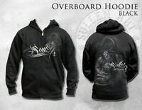 Sullen Art Collective Overboard Mens Zipped Hoodie MMA UFC Tattoo Clothing