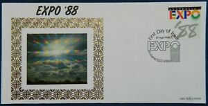 1988 Australia EXPO '88 By Benham Silk Cover - RARE Limited of only 500