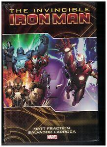 INVINCIBLE IRON MAN Deluxe Vol 2 HC Hardcover $34.99 SRP Fraction Larroca SEALED