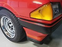 FORD Falcon XE S Pack Fairmont Ghia RED Bumper Mould Strip FRONT & REAR sedan