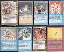 LOT x8 cartes MAGIC MTG LEGENDS ENGLISH 1994 EX-NM Bartel Runeaxe Palladia-Mors