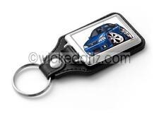 WickedKarz Cartoon Car Vauxhall Astra MK4 GSi in Arden Blue Key Ring