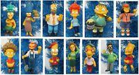 "The Simpsons Christmas Tree Ornament Set 2"" to 4"" Tall"