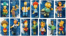 """The Simpsons Christmas Tree Ornament Set 2"""" to 4"""" Tall"""