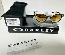 Oakley DEADBOLT SUNGLASSES SATIN BLACK/PRIZM ROSE GOLD POLARIZED OO6046-0450
