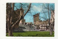 Baalbeck Temple of Bacchus Lebanon Postcard 606a