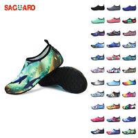 Men Water Shoes Aqua Socks Diving Socks Wetsuit Non-slip Swim Beach Sea 45Colors