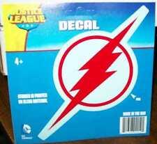 DC COMICS FLASH RED LOGO VINYL DECAL / STICKER / CLING #sjun16-80