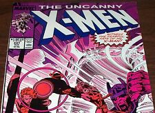 The Uncanny X-MEN #247 Havok, Rogue & Storm from Aug 1989 in Fine condition DM