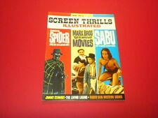 SCREEN THRILLS ILLUSTRATED #8 Warren magazine 1964 vintage MOVIES FILMS