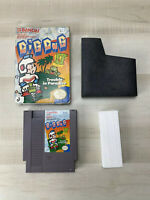 Dig Dug II 2: Trouble in Paradise (Nintendo NES) In Box No Manual Tested Working