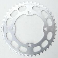 Porkchop BMX Chop Saw I single speed bicycle chainring 44T 4 bolt 104 bcd SILVER