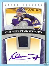 07 HOT PROSPECTS MAREK SCHWARZ ROOKIE PATCH AUTO #/599