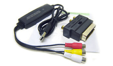 Scart RGB RCA S-Video Audio To USB Video Frame Grabber For PC