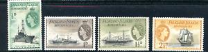 1954 Falkland Island Dependencies - Mint Hinged Part Set ( Lot 1570 )