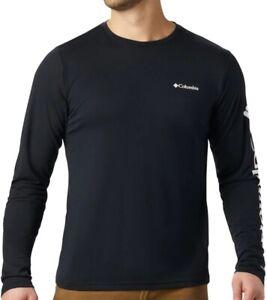 COLUMBIA Miller Valley AO0212010 Baumwolle Pullover T-Shirt Langarmshirt Herren