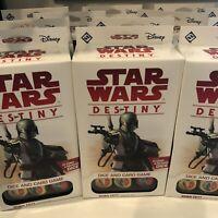 Star Wars Destiny - Boba Fett Starter Set - 24 Cards & 9 Dice X 12 boxes
