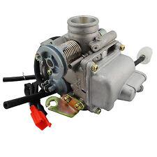 Electric Choke 24mm Carby Carburetor GY6 125cc 150cc Quad Dirt Bike ATV Buggy
