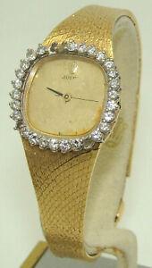 ROLEX WOMEN's 18K CELLINI 24mm DIAMOND BEZEL MANUAL WIND WATCH Ref. 3950 PARTS