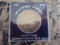 Western Samoa 1970 James Cook $1 One Dollar Tala