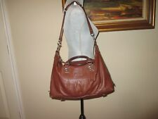 "COACH ""ASHLEY"" F15447, LARGE BROWN SATCHEL PURSE SHOULDER BAG (retail $398)"