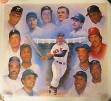 500 Home Run Club L/E Litho Signed by Artist Doo S. Oh