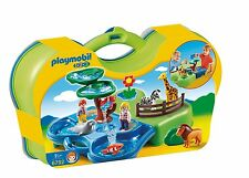 PLAYMOBIL 6792 Take Along Zoo Aquarium Building Ages 2+ New Toy Boys Girls Gift
