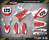 Yamaha YZ 250 2006 2007 Full Custom Graphi Kit -RETRO STYLE stickers / decals
