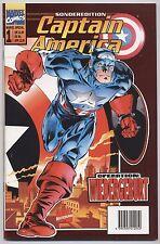 MARVEL SPECIAL # 1-Capitan America-metallico-VARIANT-PANINI 1997-Top