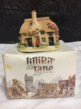 Liliput Lane Postman's Knick L2957 2006 Boxed But No Deeds...great Xmas Gift!!