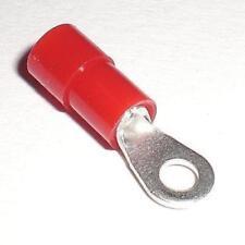 100 Anillo Terminales de Cable M-3 Rojo Para 0,5 -1 , 5mm ² Cable _ M3