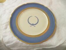 Vintage Germany Ivory Rosenthal Dinner Plate blue cream gold Wreath #1088
