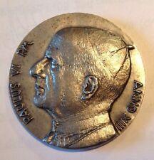 Pope Paulus VI 1975 Silver Medal
