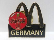 Coca-Cola - McDonald's GERMANY-PINS - attacco con bottone a innesto