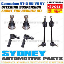 Commodore VT-2 VU VX VY FRONT Ball Joints Tie Rod Ends Sway Bar Link Pin Kit