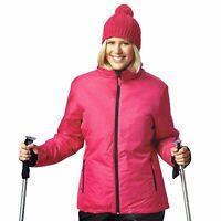 Damen Skijacke Snowboardjacke wind-, schmutz- und wasserabweisend Öko-Tex Bionic