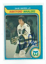 Dave Inkpen Signed 1979-80 O-Pee-Chee Card #321