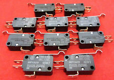 10 pcs Matsushita of Japan SPDT Microswitch Lever Snap Switch 15A 125V 250V AC J