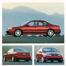 1998 Ford SVT CONTOUR Brochure / Catalog: Special Vehicle Team, High Performance