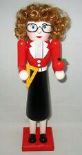 "Christmas Nutcracker 15"" Teacher W/ Red Hair"
