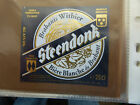 VINTAGE BELGIUM BEER LABEL. PALM BREWERY - STEENDONK 25 CL