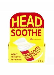 HP Head Soothe Temple Forehead Balm Headache Migraine Effective Pain Relief 3.6g