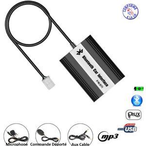KIT MAINS LIBRE BLUETOOTH MP3 USB AUTORADIO TOYOTA LAND CRUISER 2003 - 2011