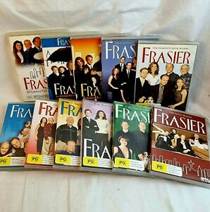 FRASIER Complete Series 1 2 3 4 5 6 7 8 9 10 11 DVD 44 Discs Collection Free📮