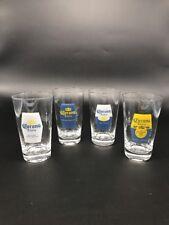 Corona Extra Imported 16 Oz Pint Beer Glasses Gift Set Box Four 4 Glasses